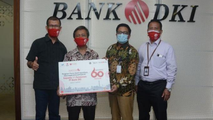 Bank DKI Berikan Modal Usaha UMKM Dorong Purnabakti Tetap Produktif