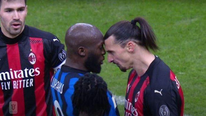 Ibrahimovic & Lukaku Resmi Dijatuhi Hukuman Sama Buntut Insiden Perkelahian Derbi Milan